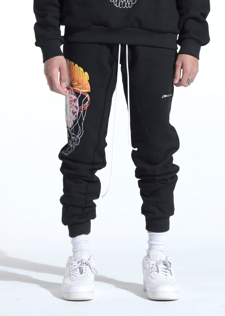 Lithuania Warm Up Sweatpants (Away Black)