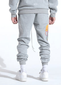 Lithuania Warm Up Sweatpants (Home Grey)