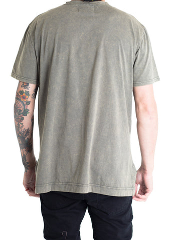 Davis Power Wash Tee (Olive)