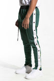 Drexler Tearaway Track Pants (Green/White/Yellow)