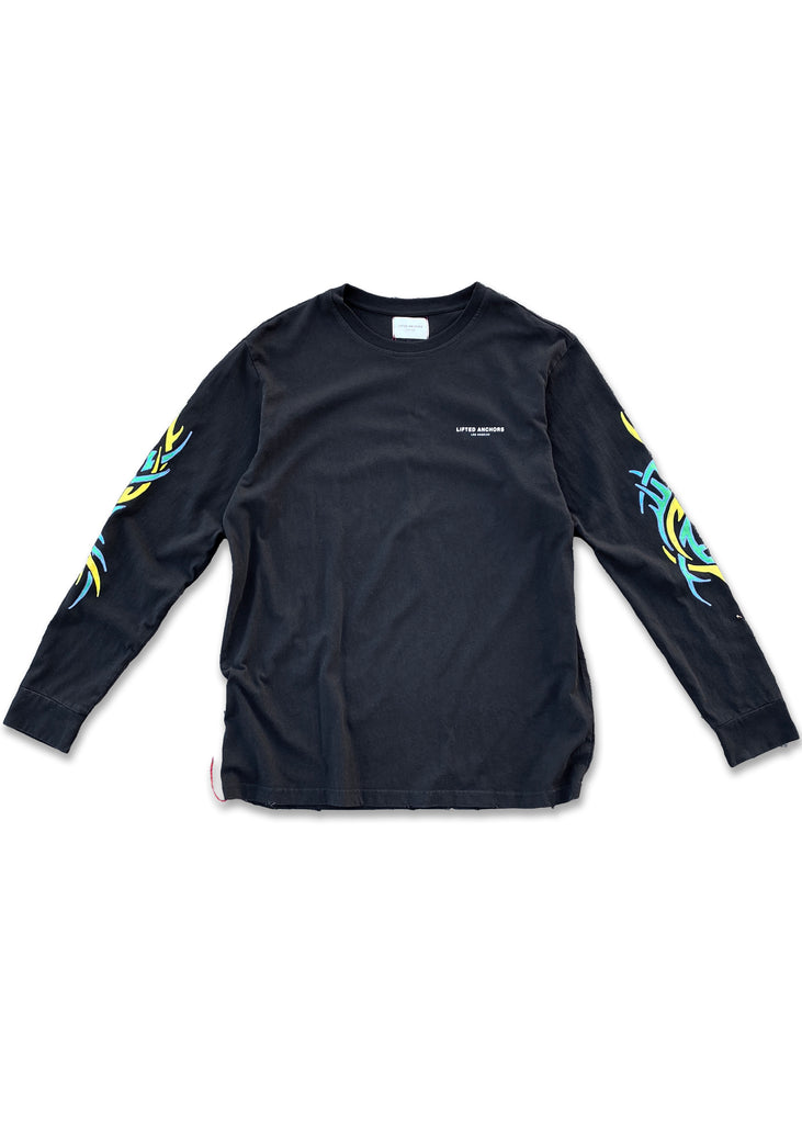 Tribal Long Sleeve (Black)