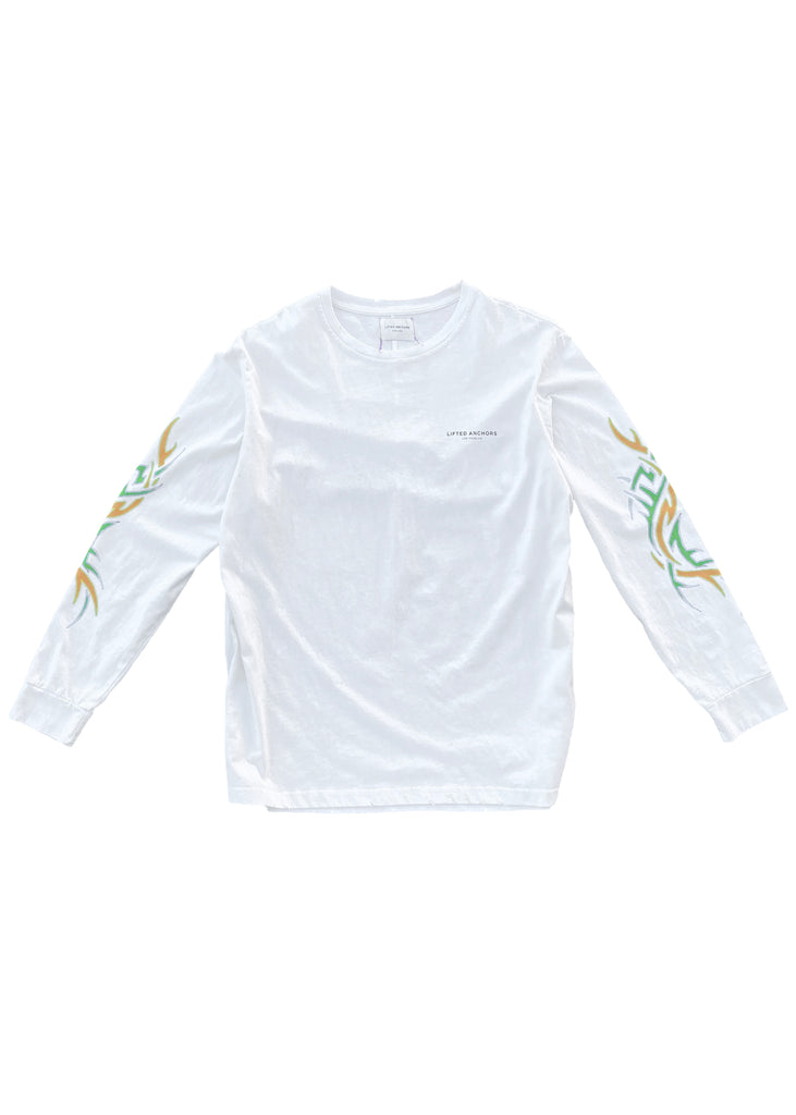 Tribal Long Sleeve (White)