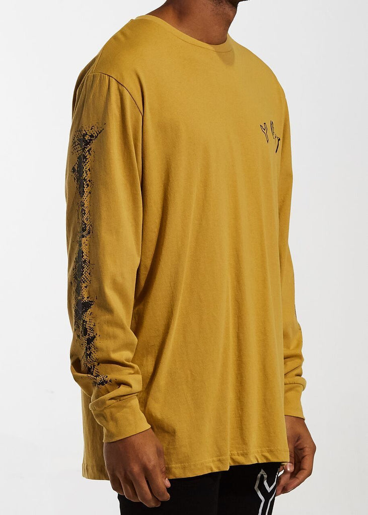 Flyer Long Sleeve Tee (Mustard)