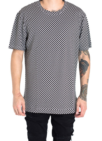 Wilkens Checkered Tee (Black/White)