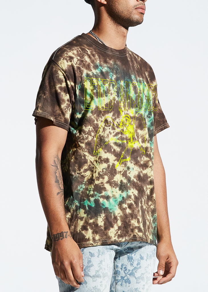 Zeppelin Tee (Brown Tie Dye)