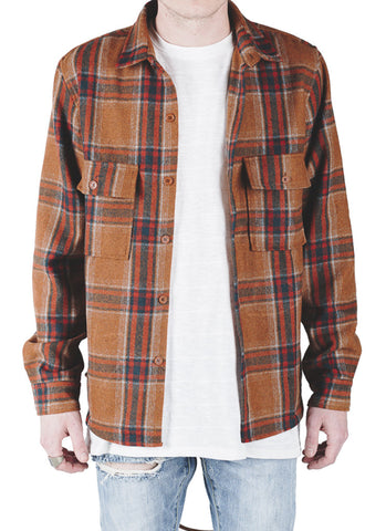 Banks Wool Flannel (Orange)