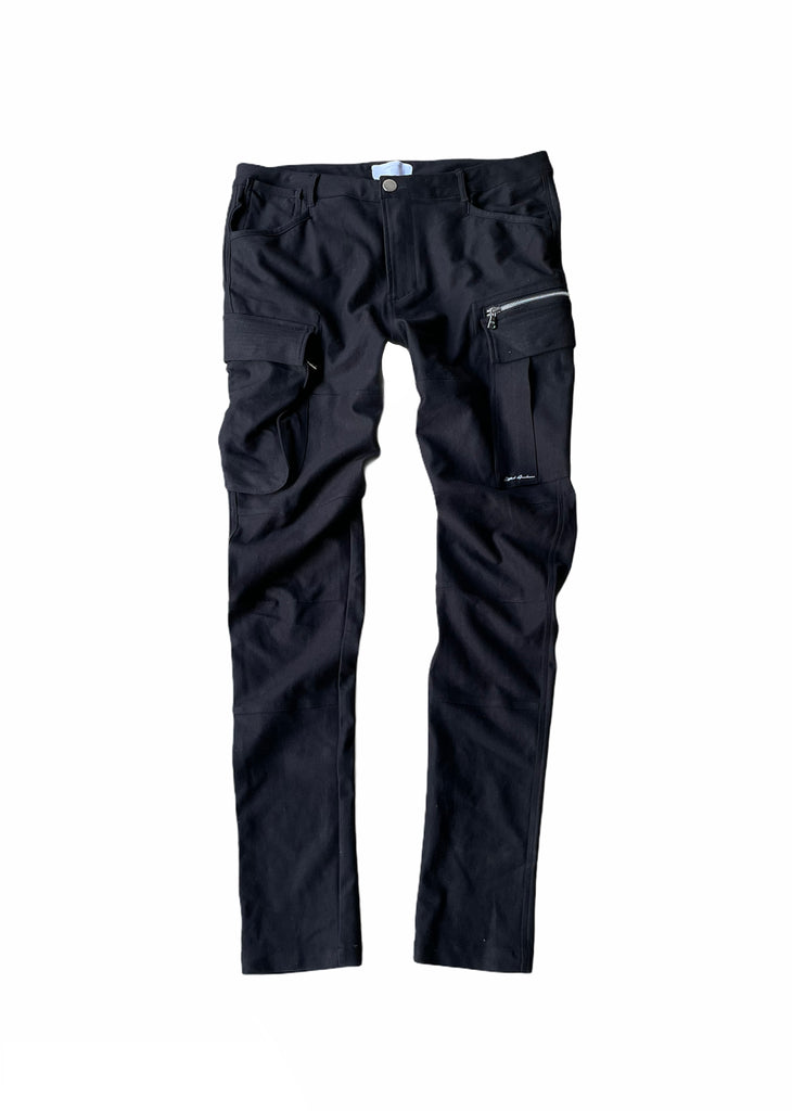 Berlin Daily Cargo Pants (Jet Black)