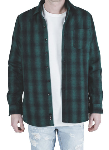 Lima Wool Flannel (Green)