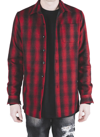 Lima Wool Flannel (Red)