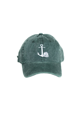 Rose Ball Cap (Green)