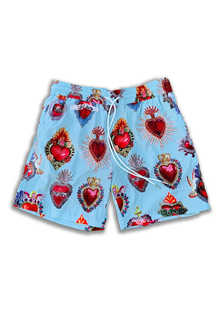 Parry Sacred Heart Walking Shorts