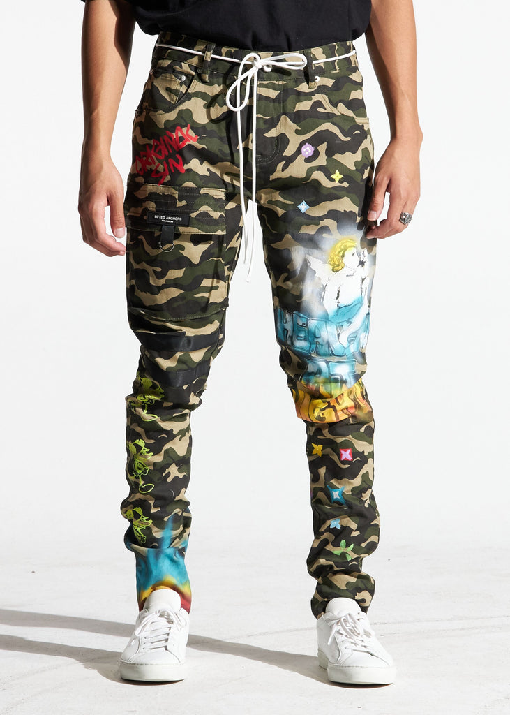 Starlight Cargo Pants (Camouflage)