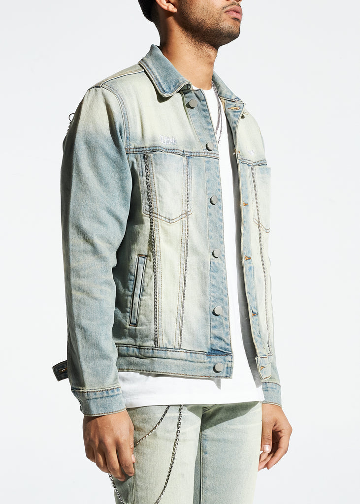 Prisoner Denim Jacket (Blue)