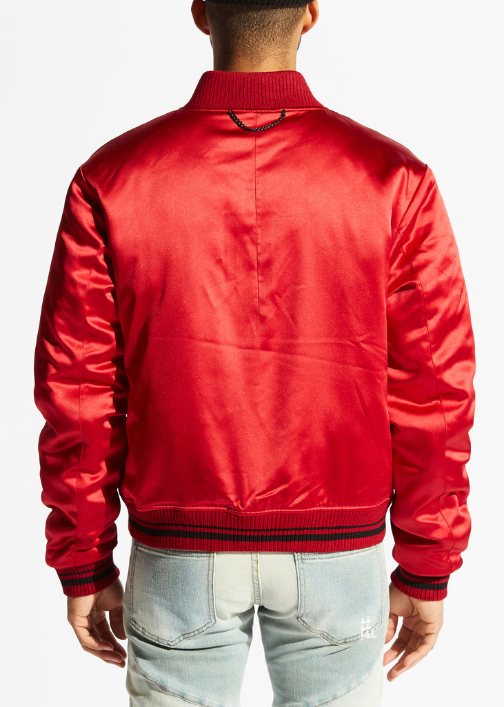 Broadband Bomber Jacket (Red)