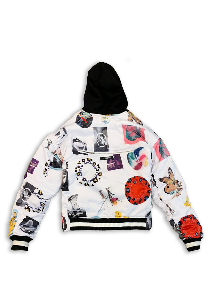Reversible Hooded Bomber