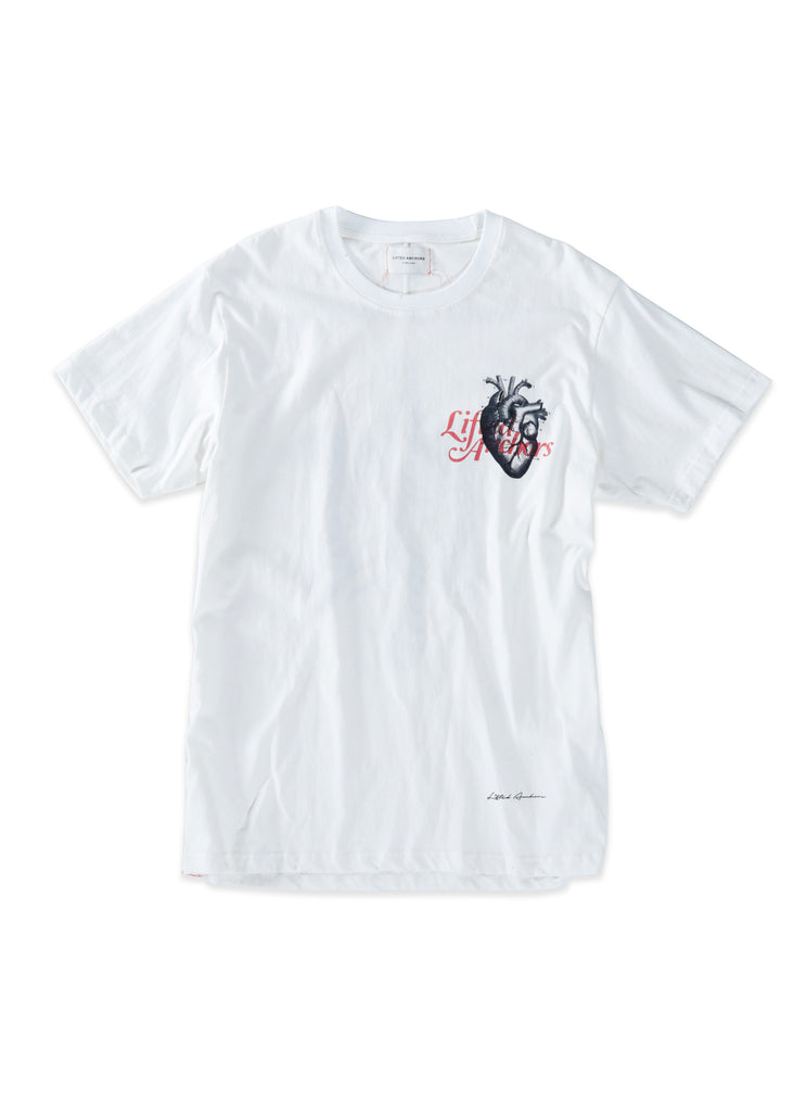 Cage Graphic Tee (White)
