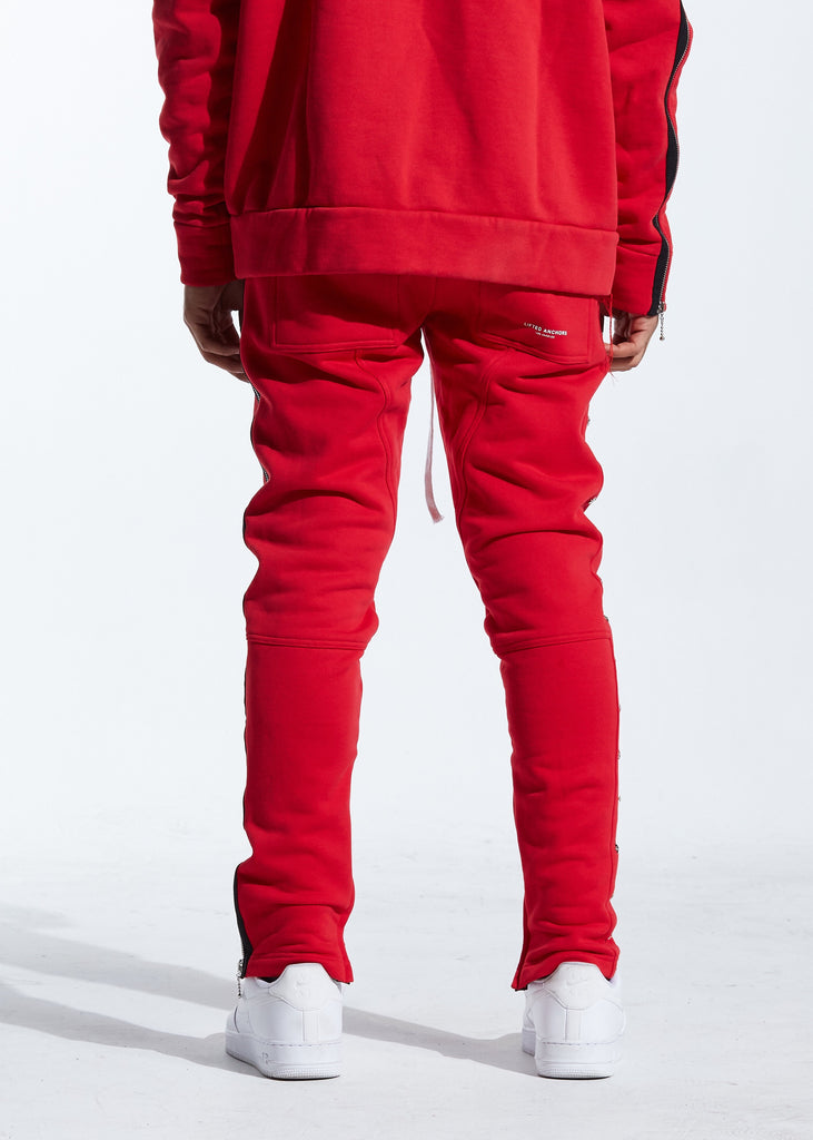 Clinton Sweatpants (Red)
