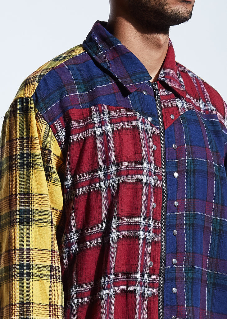 Disick Plaid Button Up