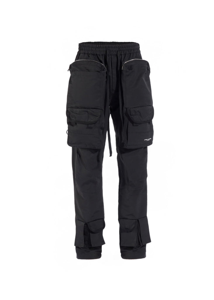 Bomber Cargo Pants (Black)