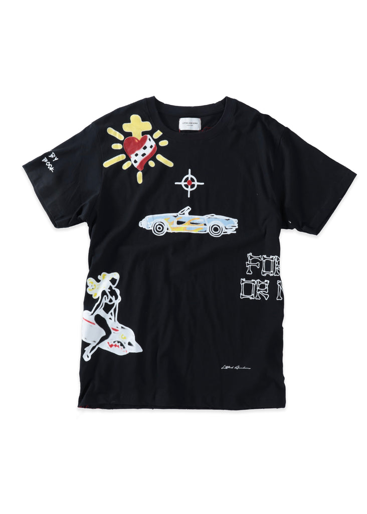 Alley Graphic Tee (Black)
