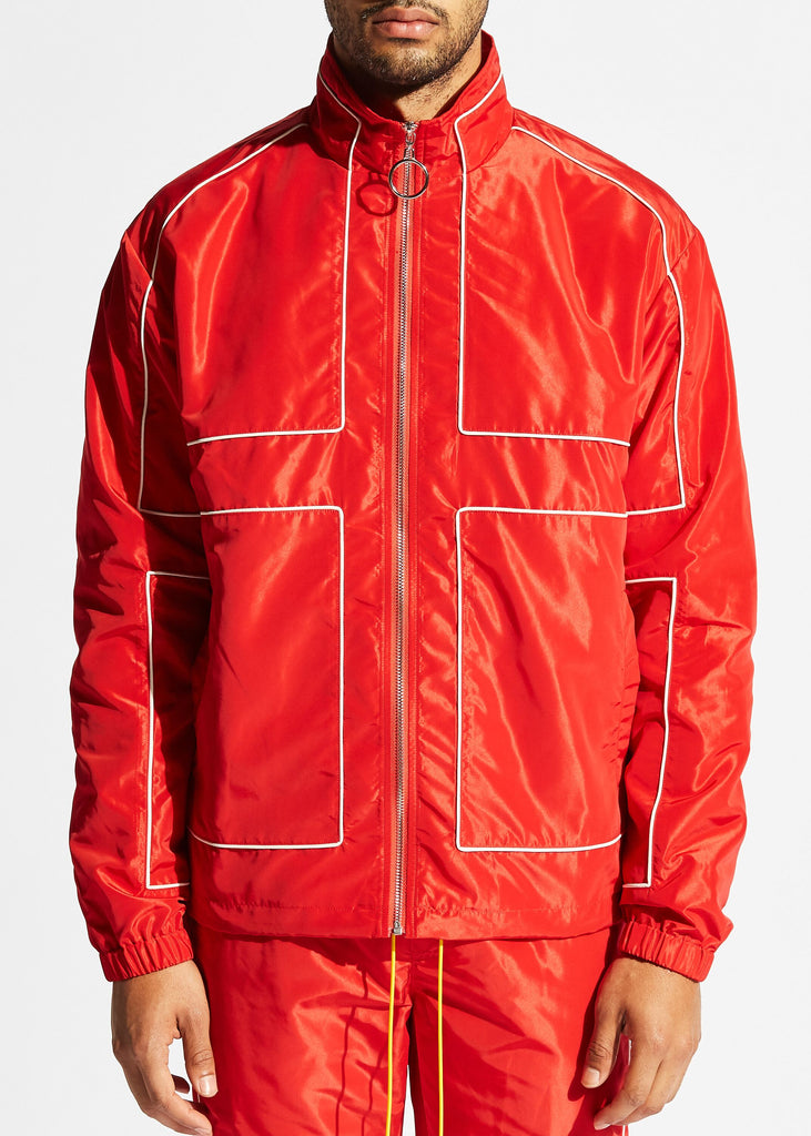 Vector Windbreaker Jacket (Red)