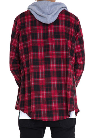 Kerr Hooded Flannel