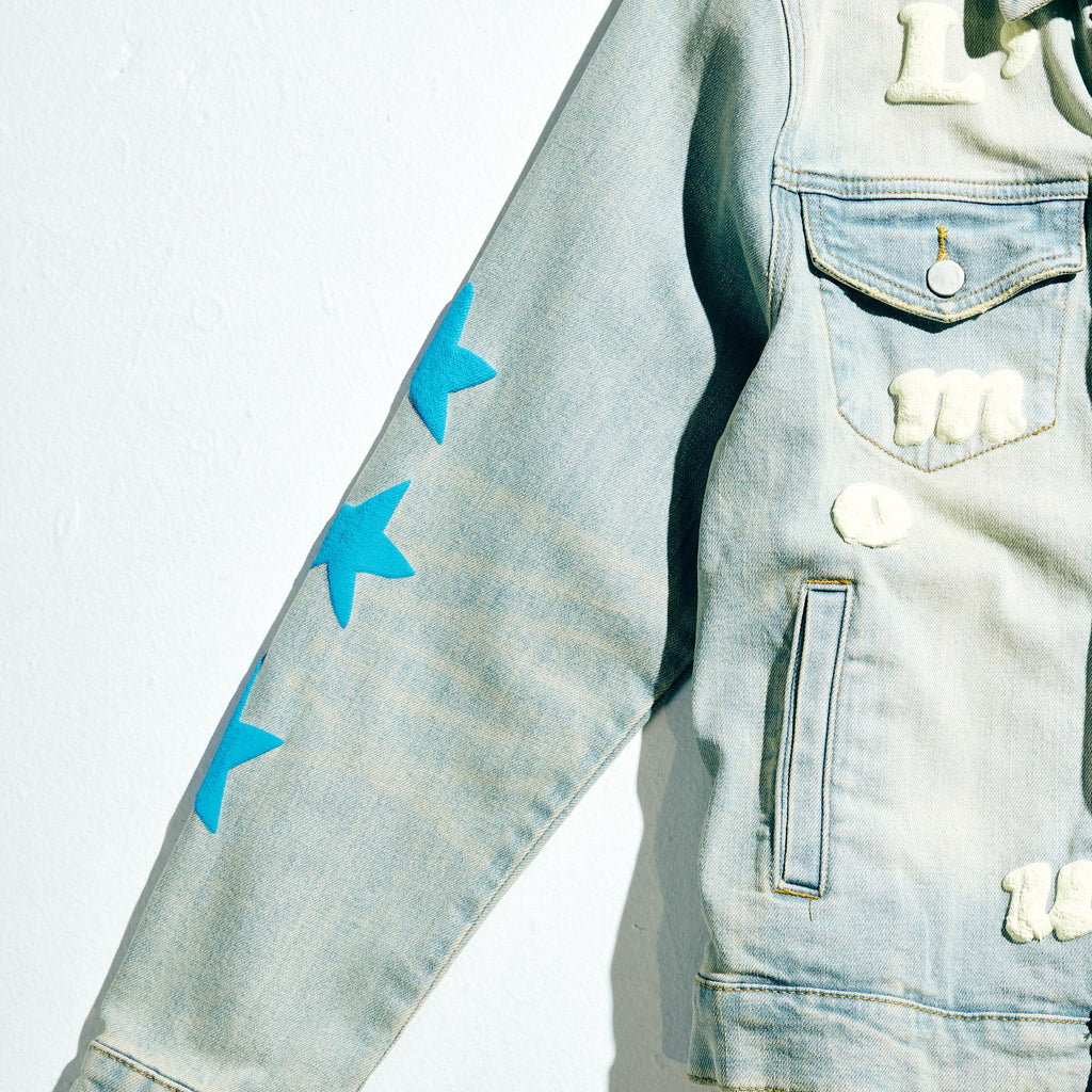 Hopkins Denim Jacket (Light Blue)