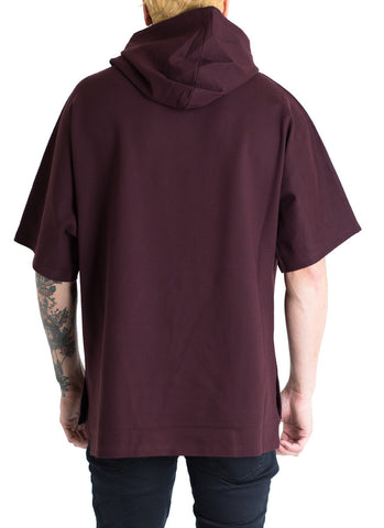 Mercer Hooded Tee (Wine)