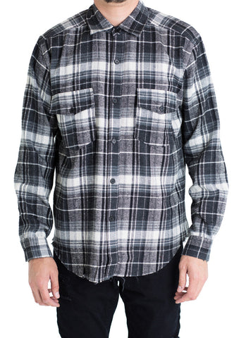 Price Button Down (Black)