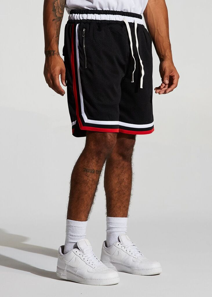Jordan 2.0 Basketball Shorts - Bulls Away (Black)