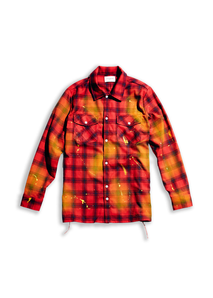 Demille Flannel (Red)