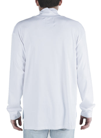 Selita Mock Neck Tee (White)