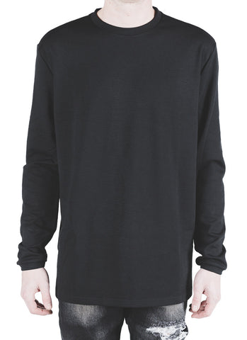 Sims Long Sleeve Tee (Black)