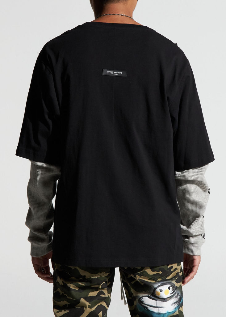 Imperial Thermal Tee (Black/Grey)