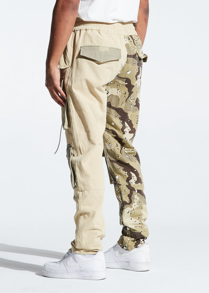 Harington Split Camo Pants (Tan)