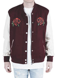 Windsor Varsity Jacket (Wine)