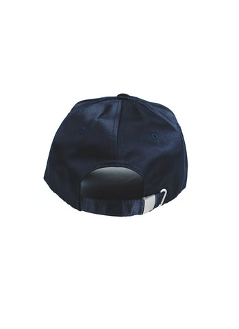 WYWH Satin Strap Back (Navy)