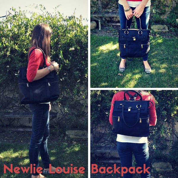 Mom trends reviews the Louise Backpack by Newlie