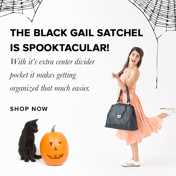 The Gail Diaper Bag makes for the perfect Halloween Treat!