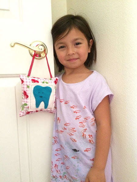 DIY your own tooth fairy pillow