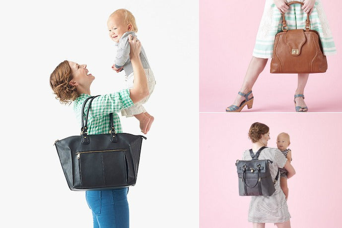 CoolMomPicks.com talks about how much they love Newlie Diaper Bags!