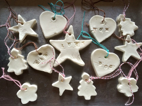 DIY Salt Dough Christmas ornament