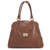 The Gail Satchel Diaper bag will fit so much people will think you're a walking baby boutique.