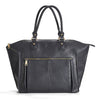Newlie's Lily Tote Diaper bag looks smart in Black.