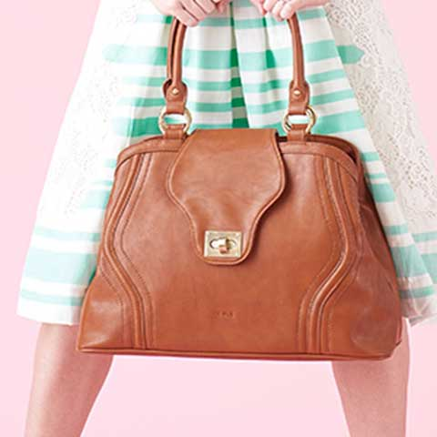 Gail Satchel Diaper Bag