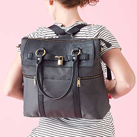 Louise Backpack Diaper Bag
