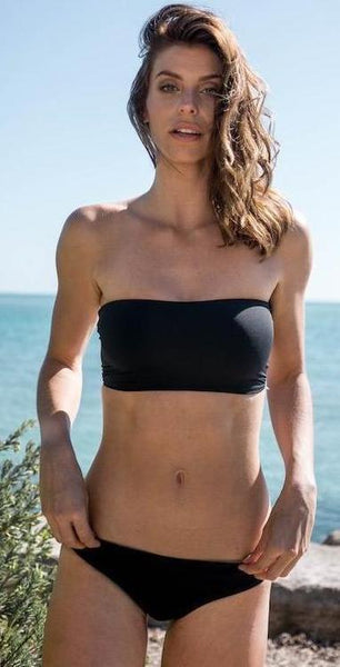 Surf Souleil Bandeau Bikini Top Seamless and Reversible