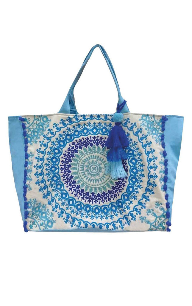 Sabita Mala Beach Bag By Debbie Katz - Surf Souleil