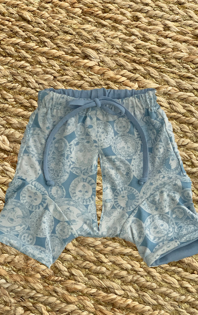 Surf Souleil Doggy Boardshort Powder Blue Suns - Surf Souleil