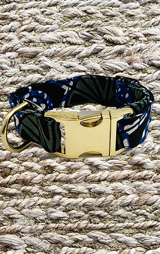 Doggy Collar - Royal Blue - Surf Souleil
